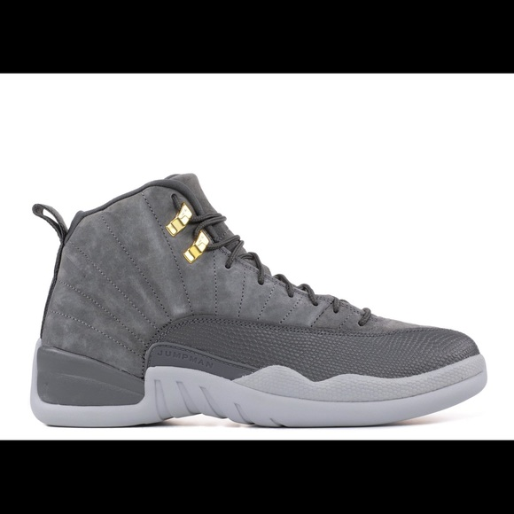 the best attitude 3c8f2 9ab9a ON HOLD FOR MARY - Jordan Retro 12 Dark Grey Suede